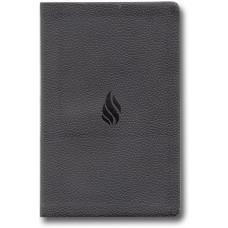 ESV Value Thinline Bible - Midnight, Flame Design