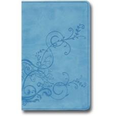 ESV Thinline Bible - Trutone, Sky Blue, Ivy Design