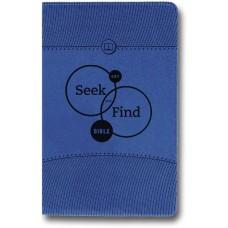 ESV Seek and Find Bible - Children's, Trutone, Blue