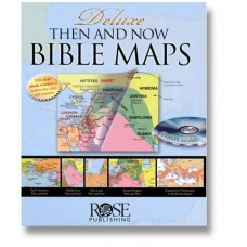 "Rose Deluxe ""Then and Now"" Bible Maps"