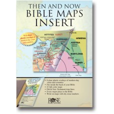 INSERT - 'Then and Now' Bible Maps