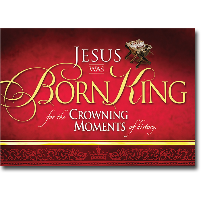 Jesus Was Born King - 1 Pack/10 Cards