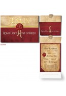 Royal Document of Birth - 1 Pack/10 Cards