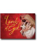 2019 LIMITED EDITION CHRISTMAS CARD - The Lamb of God - 1 Pack/10 Cards