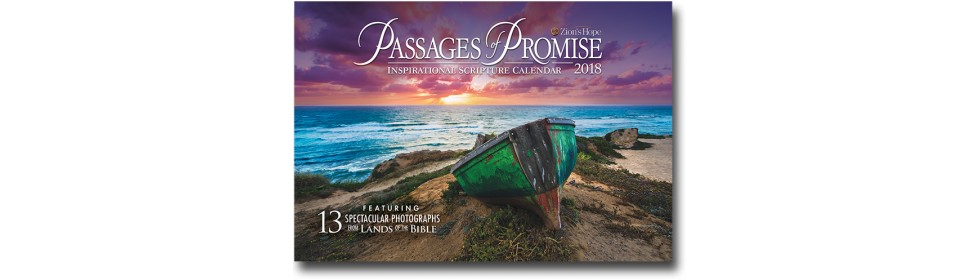 2018 Passages of Promise 13-Month Calendar
