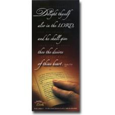 Delight Thyself - WitnessWord Card