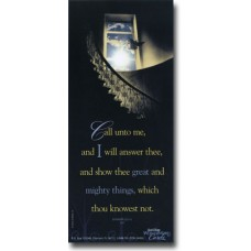 Call Unto Me - WitnessWord Card