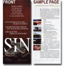 Sin - Booklet