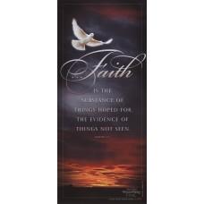 Faith Is the Substance - WitnessWord Card