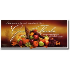 Give Thanks - WitnessWord Card