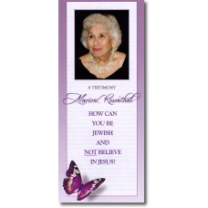 Jewish Evangelism - Marion Rosenthal's Testimony - Booklet