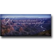 God Is My Strength - WitnessWord Card