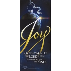 Joy…Let Earth Receive Her King - WitnessWord Card