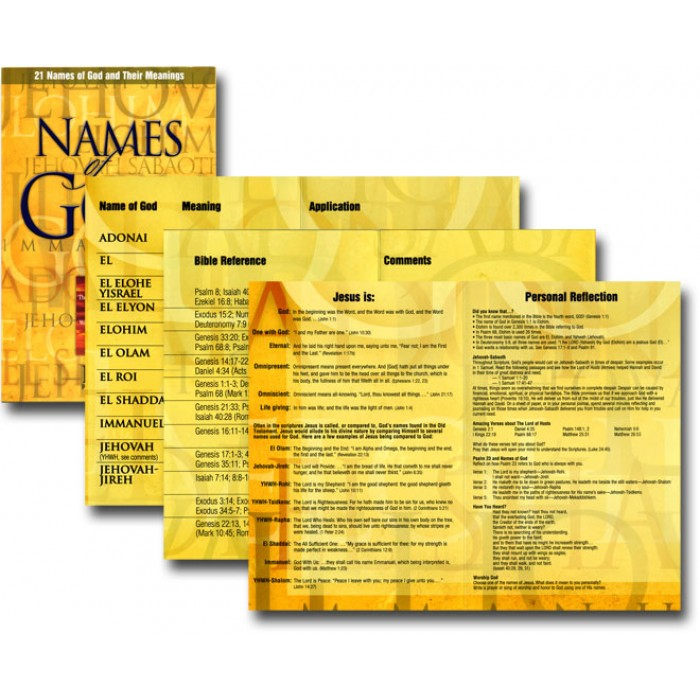 names of god and their meanings - 700×700