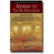 Answers to the DaVinci Code