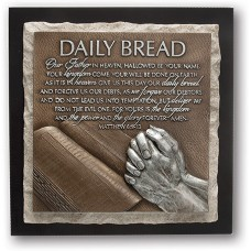 Daily Bread, Praying Hands Sculpture Plaque