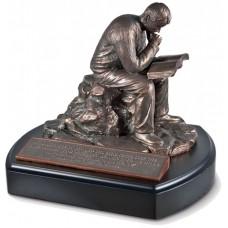 Putting God First - Man Sculpture