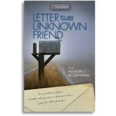 Letter to an Unknown Friend -  Single Booklet