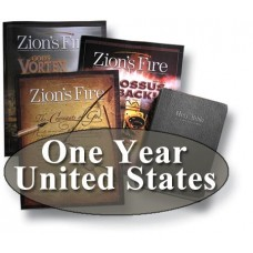 """Zion's Fire One-Year """"United States"""" Print Subscription"""
